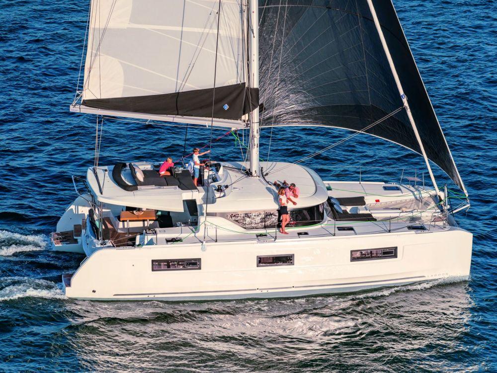 Alain Jabet - Expert maritime plaisance - Catamaran Lagoon